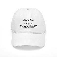 Adopt Tibetan Mastiff Baseball Cap