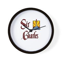 Sir Charles Wall Clock