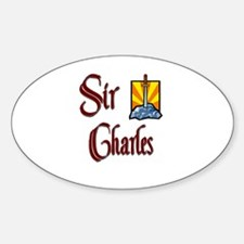 Sir Charles Oval Decal