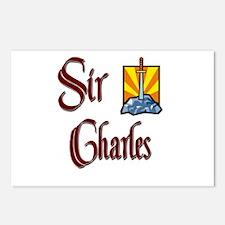 Sir Charles Postcards (Package of 8)