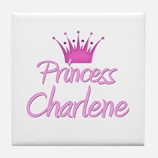 Princess Charlene Tile Coaster