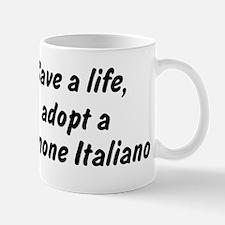 Adopt Spinone Italiano Mug