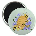 Honey Bee Dance Magnet
