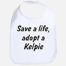 Adopt Kelpie Bib