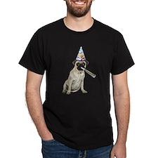 Pug Party T-Shirt