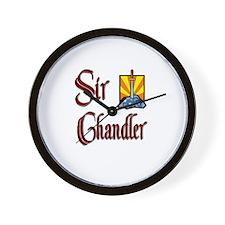 Sir Chandler Wall Clock
