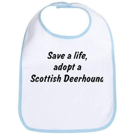 Adopt Scottish Deerhound Bib
