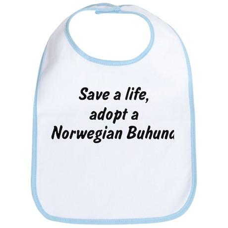 Adopt Norwegian Buhund Bib