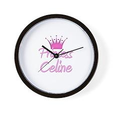 Princess Celine Wall Clock