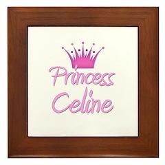 Princess Celine Framed Tile