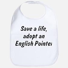 Adopt English Pointer Bib