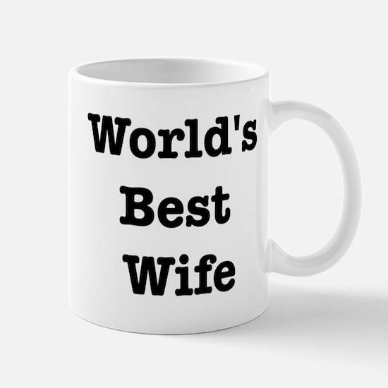 Worlds Best Wife Mug
