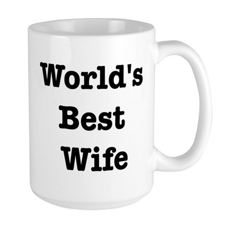 Worlds Best Wife Large Mug