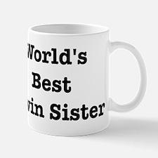 Worlds Best Twin Sister Mug
