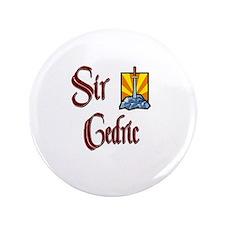 """Sir Cedric 3.5"""" Button"""