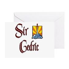Sir Cedric Greeting Card
