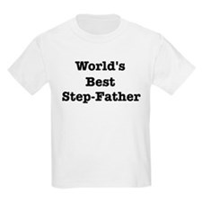 Worlds Best Step-Father T-Shirt