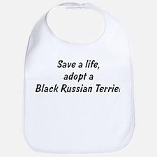 Adopt Black Russian Terrier Bib
