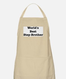 Worlds Best Step-Brother BBQ Apron