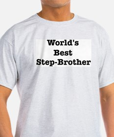 Worlds Best Step-Brother T-Shirt