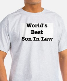 Worlds Best Son In Law T-Shirt
