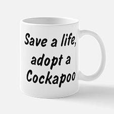 Adopt Cockapoo Mug