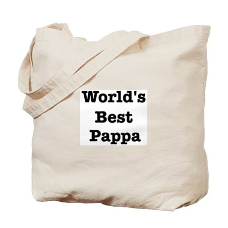 Worlds Best Pappa Tote Bag