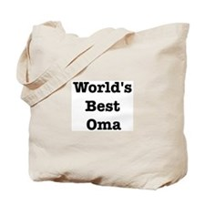 Worlds Best Oma Tote Bag