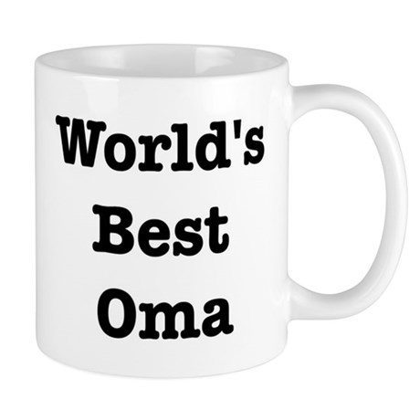 Worlds Best Oma Mug