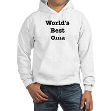 Worlds Best Oma Hoodie