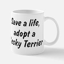 Adopt Cesky Terrier Mug