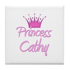 Princess Cathy Tile Coaster