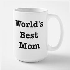 Worlds Best Mom Large Mug