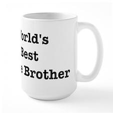 Worlds Best Little Brother Ceramic Mugs