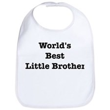 Worlds Best Little Brother Bib
