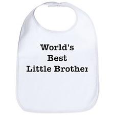Worlds Best Little Brother Bib