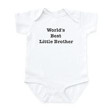 Worlds Best Little Brother Infant Bodysuit