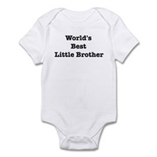 Worlds Best Little Brother Onesie