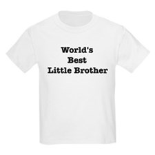 Worlds Best Little Brother T-Shirt