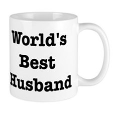 Worlds Best Husband Small Mug