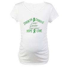 Liver Inspirational Survivor Shirt