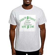 Liver Inspirational Survivor T-Shirt