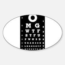 Eye Chart Decal