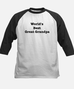 Worlds Best Great Grandpa Tee