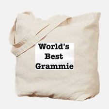 Worlds Best Grammie Tote Bag