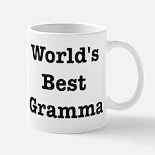 Worlds Best Gramma Mug