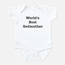 Worlds Best Godmother Infant Bodysuit