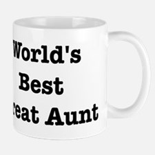 Worlds Best Great Aunt Mug