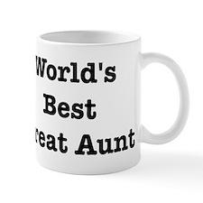 Worlds Best Great Aunt Mug