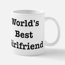 Worlds Best Girlfriend Small Small Mug